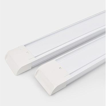 Retangle LED Purification Light Tube 0.6m/0.9m/1.2m AC 160V-260V Emitting White/Warm White