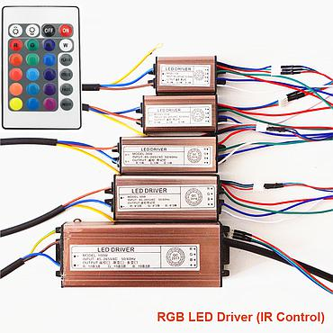 Self Change RGB LED Driver AC100-240V Input