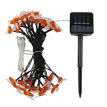 Solar Powered LED Bee Light String 5M/6.5M