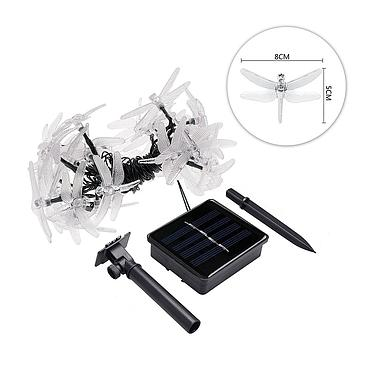 Solar Powered LED Dragonfly Light String 4M/5M