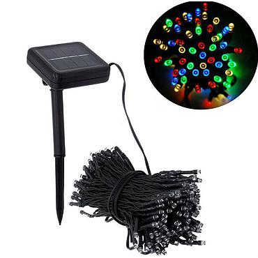 Solar Powered LED Fairy Light String 7M/12M/22M 8 Modes