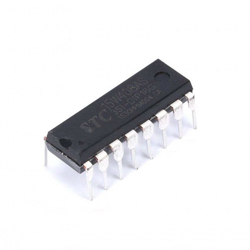 STC Chip STC15W408AS-35I-DIP16 Single-chip Microcontroller