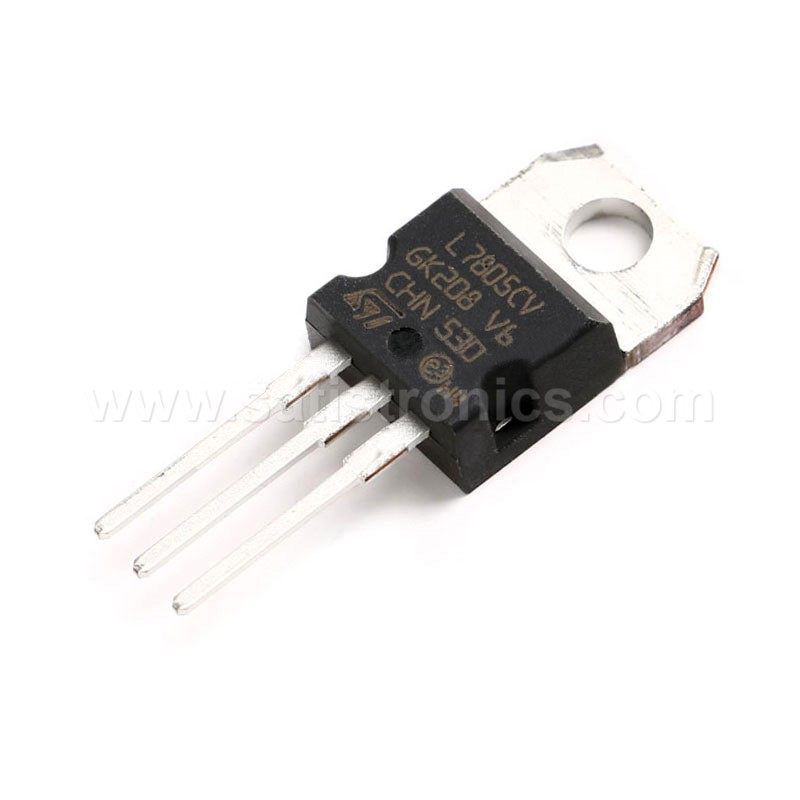 ST L7805CV TO-220 Linear Voltage Regulator 5.0V 1.5A 1.0A