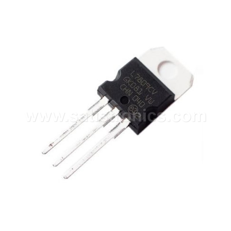 ST L7809CV TO-220 Linear Voltage Regulator +9.0V