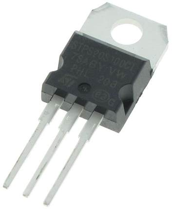 ST STPS20S100CT TO-220 Schottky Diode