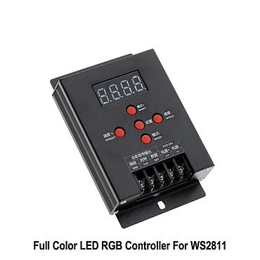 T-500 Model WS2811 WS2801 LPD6803 2812B Full color Mini Intelligent LED RGB Controller Magic Dream Color RGB LED Strip Tape