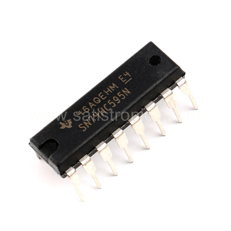 TI SN74HC595N IC Shift Register DIP-16
