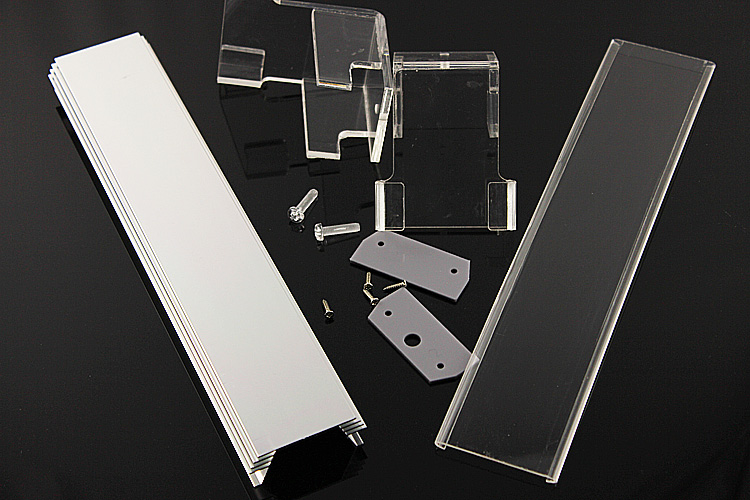 Transparent Case Kit for Aquarium Lamp Fish Tank Lamp