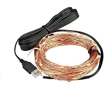 USB Powered LED Fairy Light String Copper Wire 1/2/3/4/5/6/10M