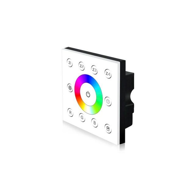 Wall Mounted RGB DMX512 12 Channel Touch Panel Controller Multi-Zone Series