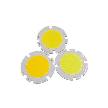 10W 15W 20W 25W 30W LED COB Module LED COB Round Panel DC 30V 59.5mm PCB 42mm Emitting Area Warm/ Natural White /White
