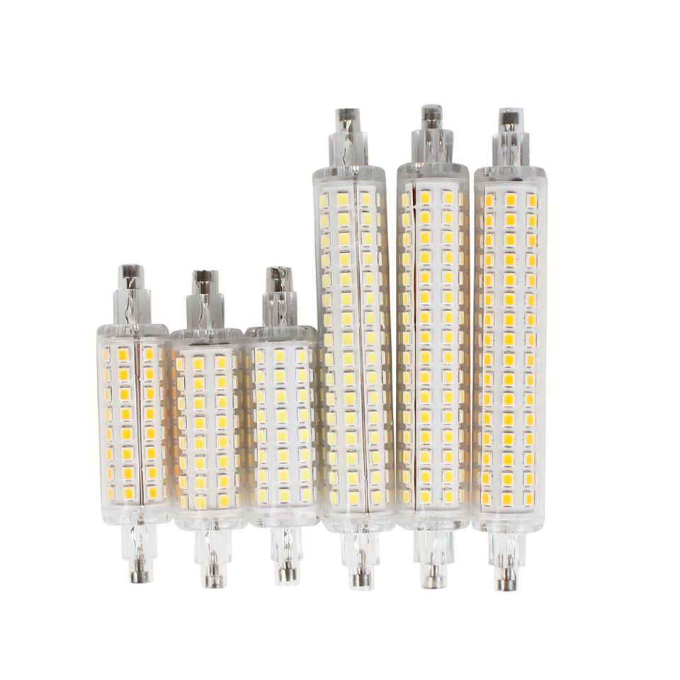 12W 16W R7S 2835 SMD LED Corn Bulb Lamp AC110V/220V LED Ceramic Floodlight