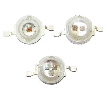 3W High Power LED Emitter IR 850nm 940nm Single/Double/Triplet Chip