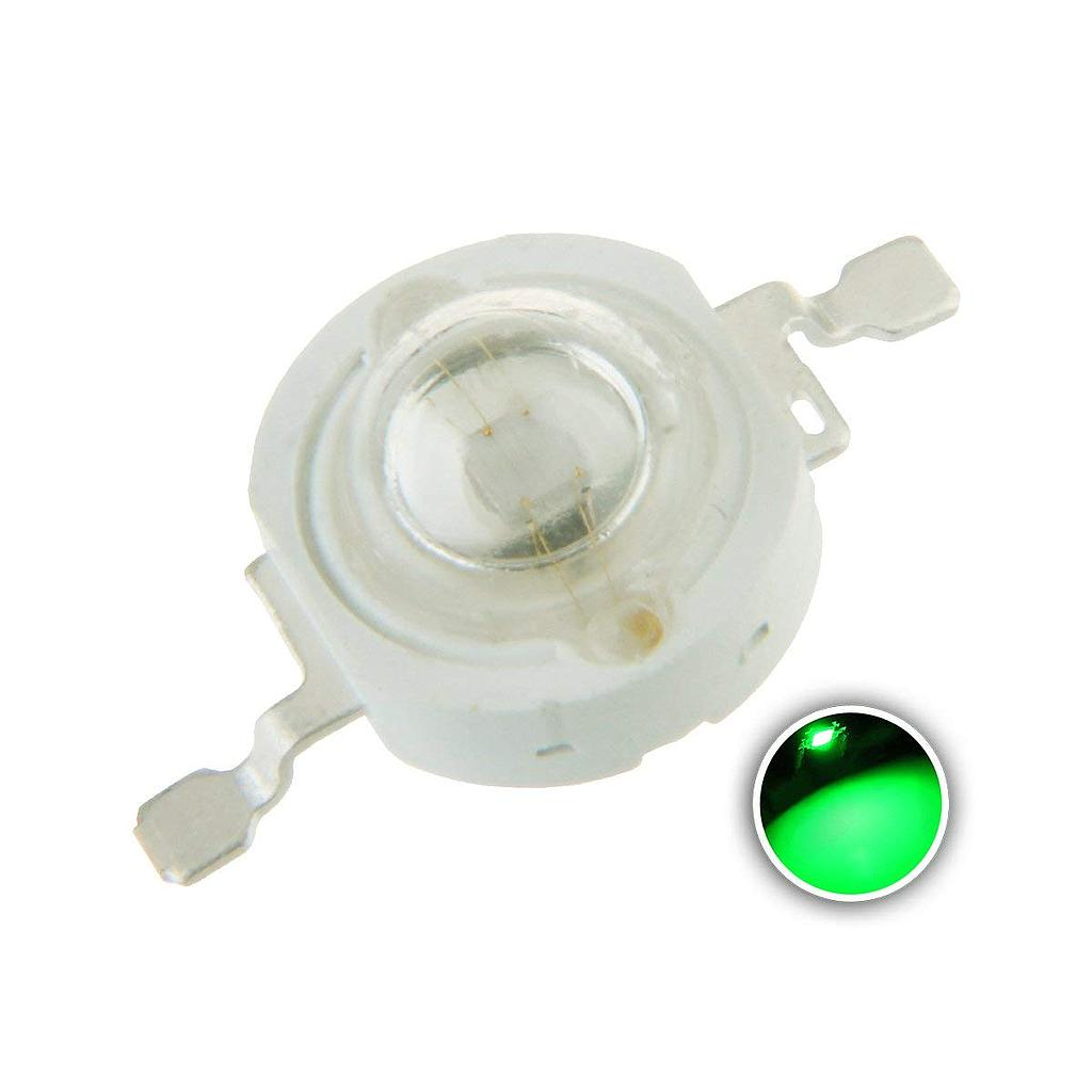 3W High Power LED Emitter Green 520-525nm