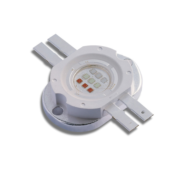 10W /9W RGB LED Emitter, 3W for Each Color Square