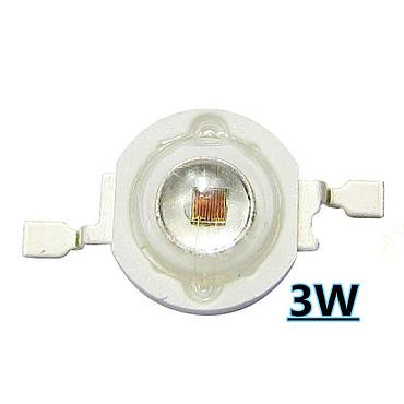 3W High Power LED Emitter IR 685-690nm/ 730-740nm/ 800-805nm/ 805-808nm/ 760-770nm/ 970-980nm/ 1000-1050nm LED