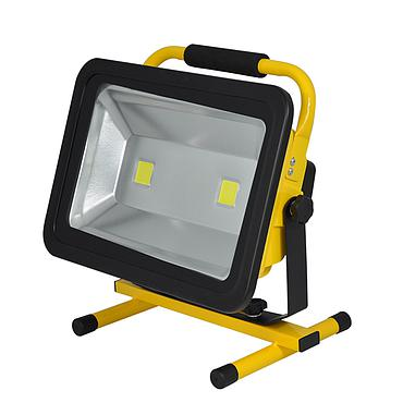 100W Recharge Portable LED Floodlight Work Light For Outdoor Light