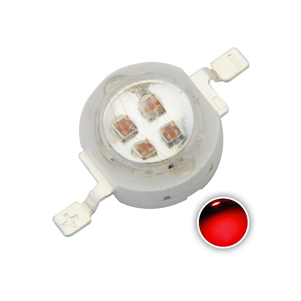 5W High Power LED Emitter IR 685-690nm/ 730-740nm/ 800-805nm/ 805-808nm/ 760-770nm/ 970-980nm/ 1000-1050nm LED