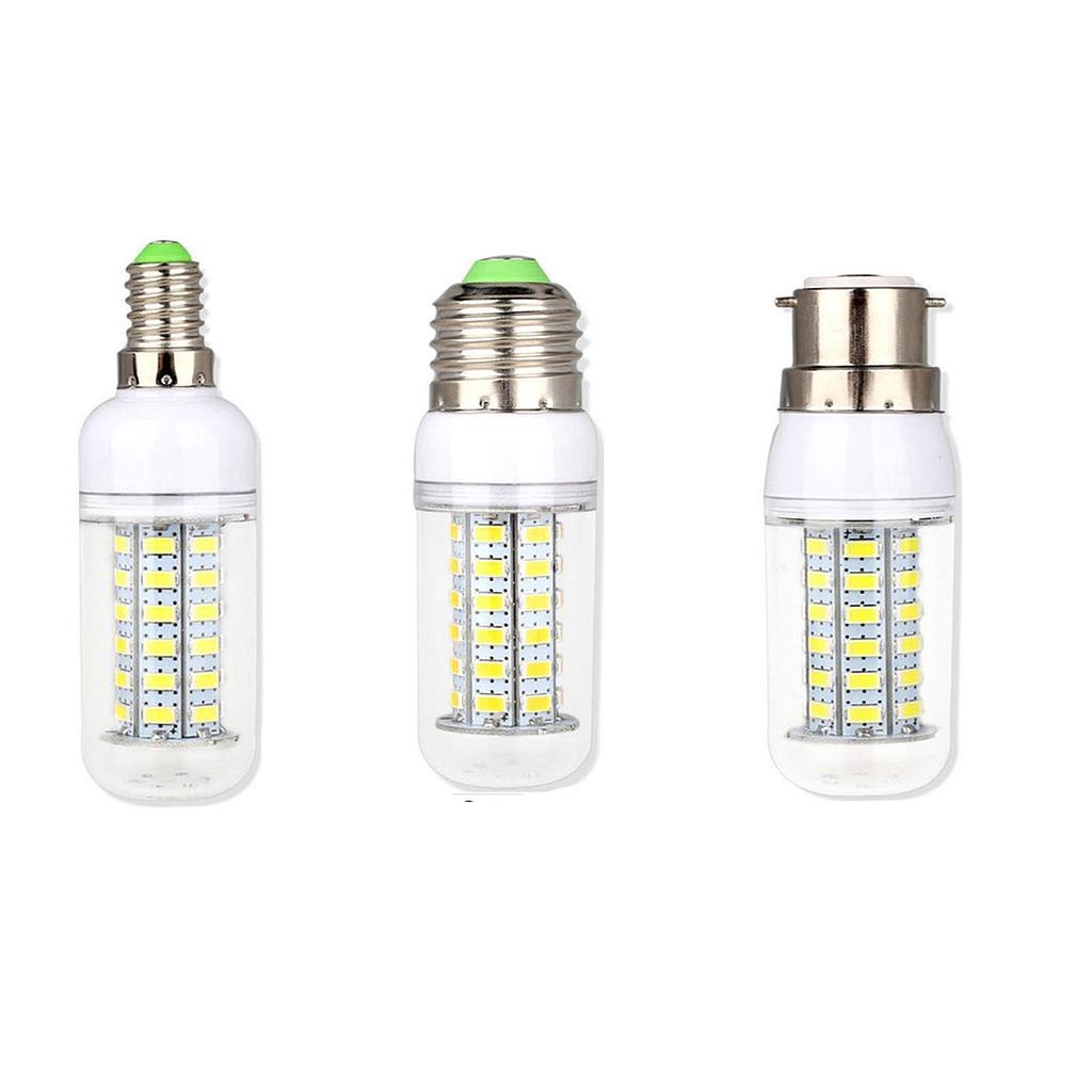 20W 35W 40W 45W 50W 60W E14 E27 B22 5730 SMD LED Corn Bulb Lamp 220V Chandelier LEDs Candle Light