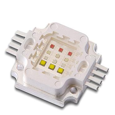 12W RGBW LED Emitter, 3W for each color Square