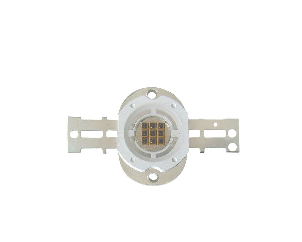 10W High Power LED Emitter IR 685-690nm/ 730-740nm/ 800-805nm/ 805-808nm/ 760-770nm/ 970-980nm/ 1000-1050nm LED Round Shape