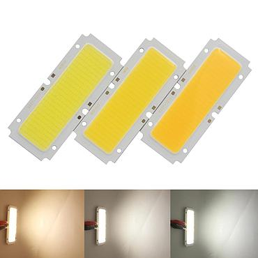 30W LED COB Light Bar Module Warm Natural White Blue DC 36V 92*37mm