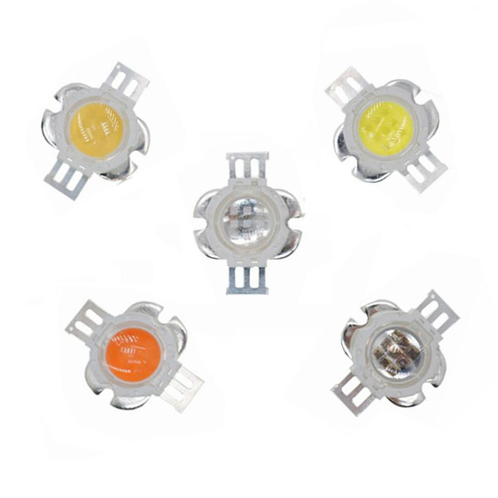 10W High Power LED Emitter  Red /Green /Blue /Royal Blue /Cyan /Far Red Round Shape With Lens