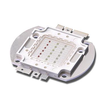 18W RGB LED Emitter, 6W for each color Round