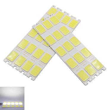 5W 5 Grids Flexible Led Cob Strip Bulb Light 151*16.5mm White 7000K