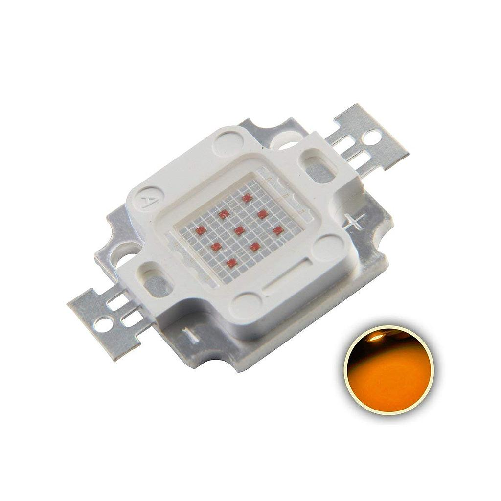 10W High Power LED Emitter Orange/ Amber/ Yellow/ Golden Yellow/ Pink / Full Spectrue