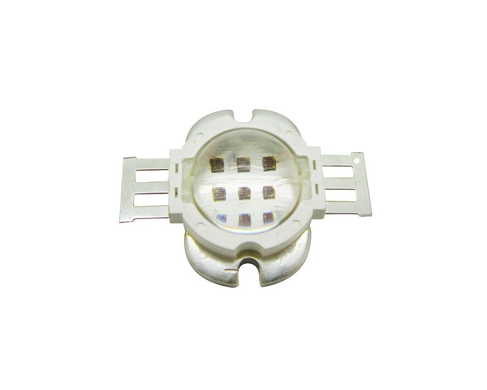 10W High Power LED Emitter UV 365-368nm/ 370nm / 380nm / 390nm /395nm /400nm / 410nm /420nm Round Shape With Lens