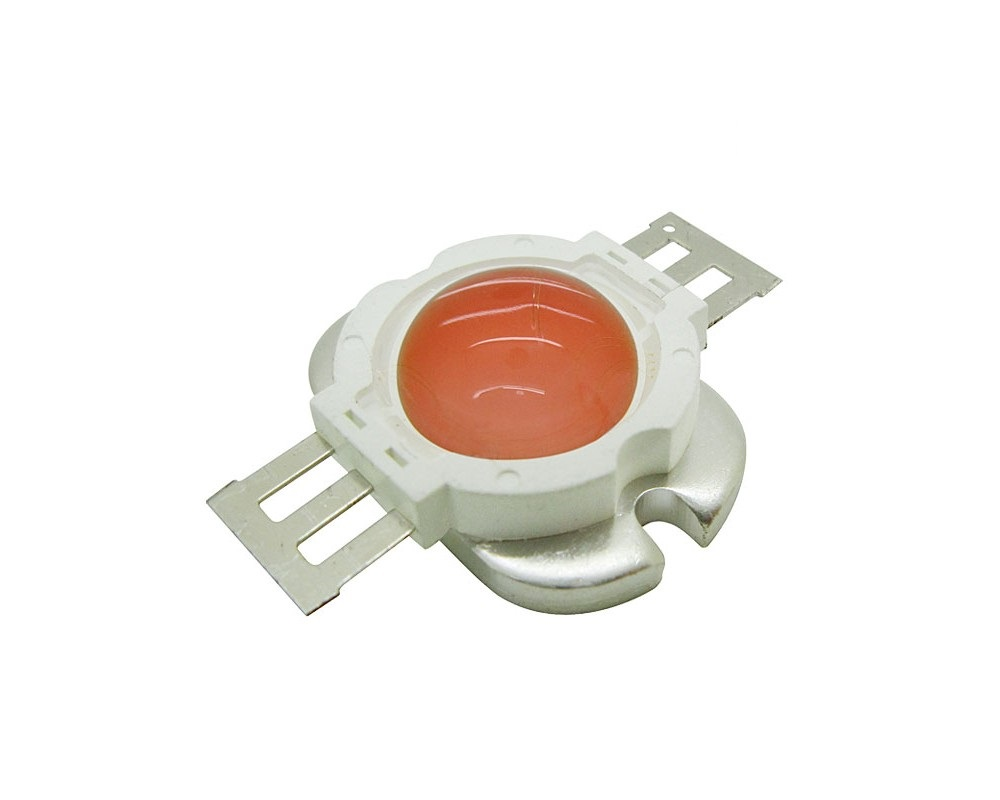 10W High Power LED Emitter Orange/ Amber/ Yellow/ Golden Yellow/ Pink / Full Spectrue Round Shape With Lens