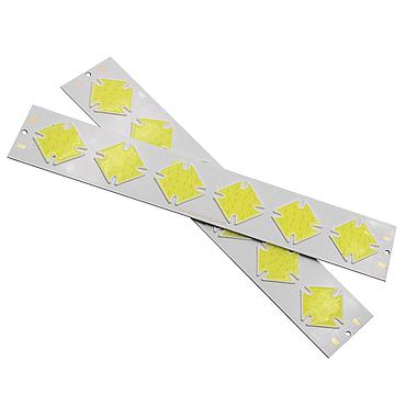 6W LED COB Light Bar Module 202*35mm Cold White 7000K DC 12V