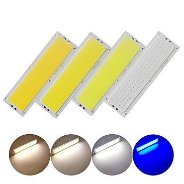 12W LED COB Light Module 120*36mm DC 12V Warm/ Natural White Blue