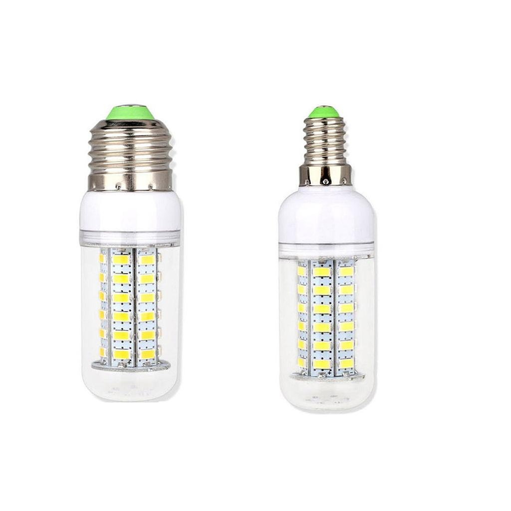 40W 60W 80W 90W E14 E27 5730 SMD LED Corn Bulb Lamp 110V/220V Chandelier LEDs Candle Light