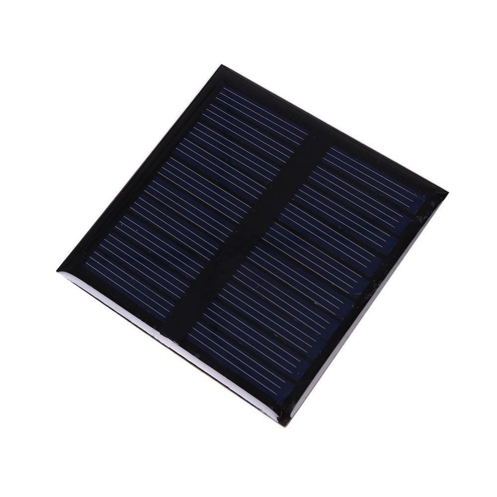 0.45W 5V Polysilicon Epoxy Solar Panel Cell Battery Charger