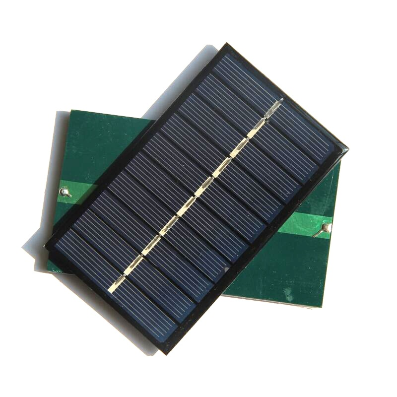 0.75W 5V Polysilicon Epoxy Solar Panel Cell Battery Charger