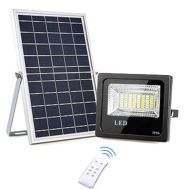 10W 20W 30W 50W 100W LED Solar Flood Light with Remote Control