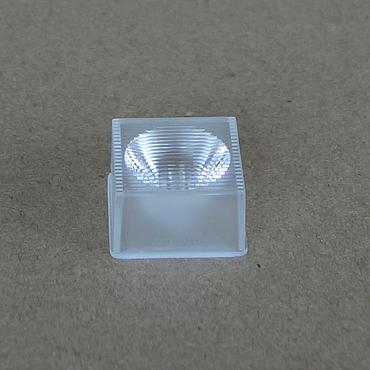 10mm LED Lens Convex Water Clear Lens 60 Degree With Positioning Pin For SMD 5050