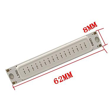 1W LED COB Light Bar Module 300mA Red/Blue/ White 1-3V 62*8mm