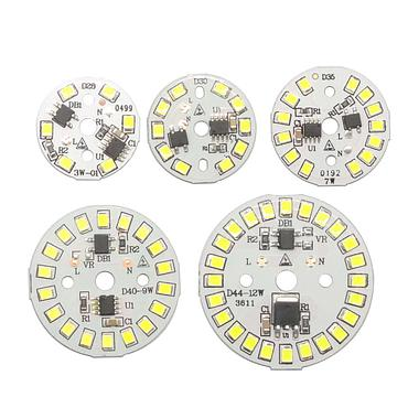 3W/5W/7W/9W/12W 32-120mm Led Chip Diode Driverless AC 220V For Bulb Emitting White/Warm White