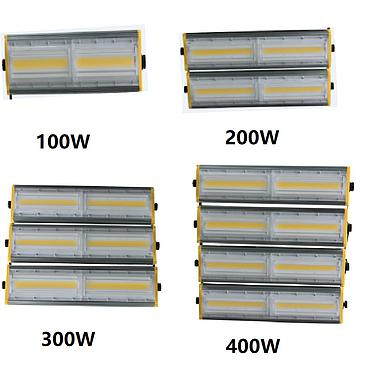 LED Floodlight 100W 200W 300W 400W Outdoor Lighting Garden Lamp AC 85V-265V