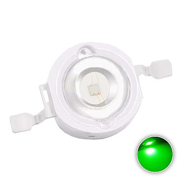 1W High Power LED Green 520-525nm