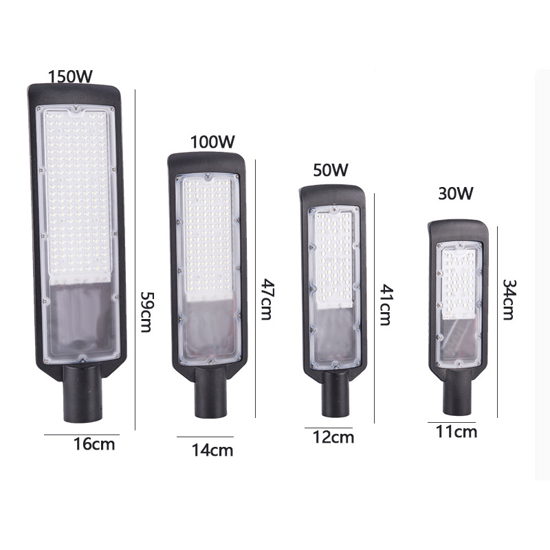 30W 50W 100W 150W LED Street Light DC 85-265V Emitting White/Warm White 2