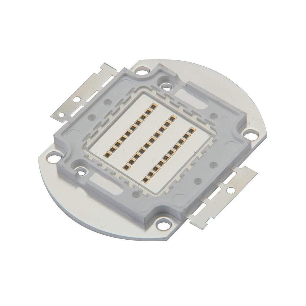 30W High Power LED Emitter Color Red/Blue