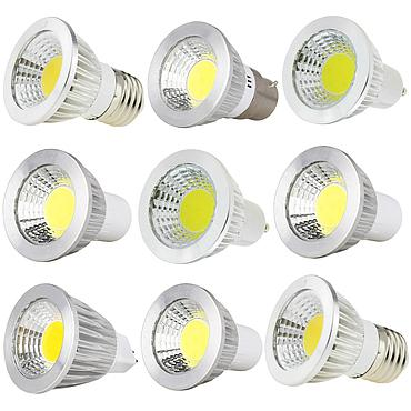 3W 5W 7W 9W E27 E14 GU10 COB LED Bulb Lamp AC85-265V LED No Dimmable Spotlight
