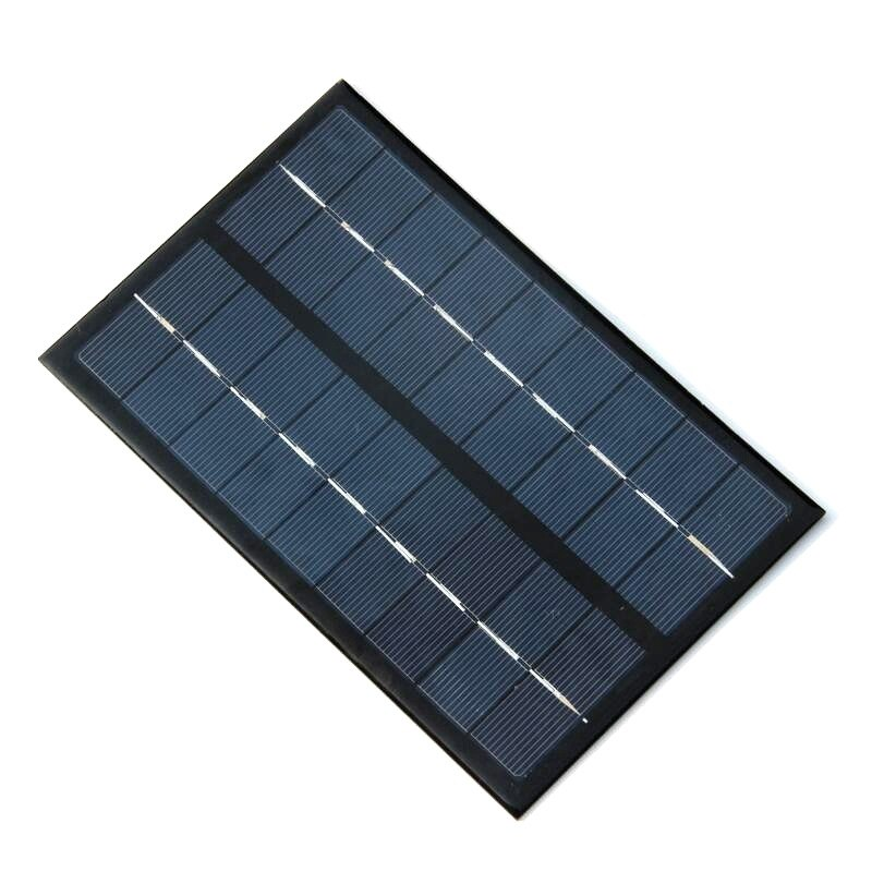3W 9V Polysilicon Epoxy Solar Panel Cell Battery Charger