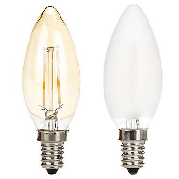 3W E14 C35 LED Edison Bulb 220V Home Light LED Filament Light Bulb