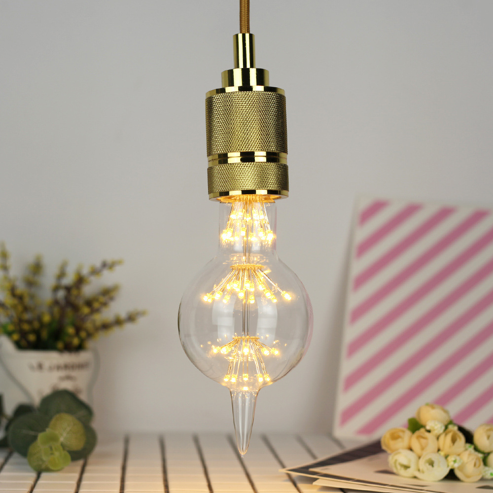 3W E27 F80 Fireworks Light LED Edison Bulb AC85-265V Home Light LED Filament Light Bulb