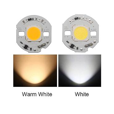 10W 15W 18W 24W High Power Driverless LED Light COB Chip Emitting White/Warm White
